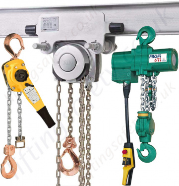 ATEX Hoists - Spark Resistant and Atex Rated Chain Hoists and Trolleys