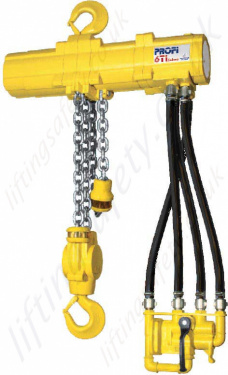 Atex Hydraulic Chain Hoists - Anti-sparking and Explosion Proof Atex Hoists with Trolley Options