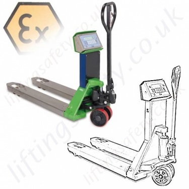 Atex Pallet Trucks for Potentially Explode Environments