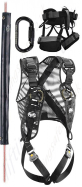 Black Height Safety Fall Arrest Equipment & PPE