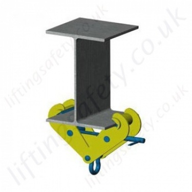 Camlok Beam Clamps. RSJ Girder Lifting and Suspension Clamps.