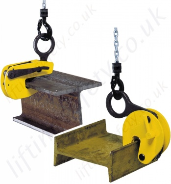 Camlok Steel Beam Lifting / Suspension Clamps - To Suit UB, RSJ, I Section or H Section
