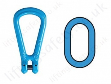 Chain Master Rings & Sub-Master Rings for Grade 10 (100) Chain Slings