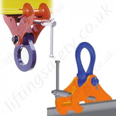 Crosby Beam Clamps. RSJ Girder Lifting and Suspension Clamps.