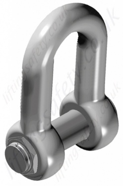 Alloy Steel Dee Shackles (D Shackles) up to 550 Tonne