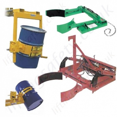 Fork Truck Mounted Drum Handling Equipment