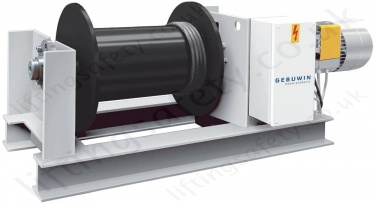 Gebuwin Electric Wire Rope Winches / Hoists for Pulling and Lifting Applications