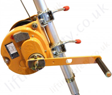 Globestock Man-Riding Hoists and Rescue Winches