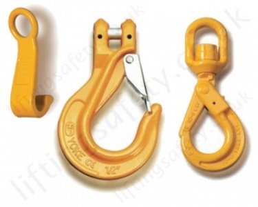 Chain Lifting Hooks for Grade 8 (80) Chain Slings