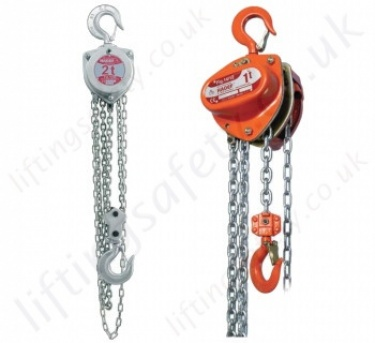 Hadef Hand Chain Hoists, Hook Suspended (manual hoists)