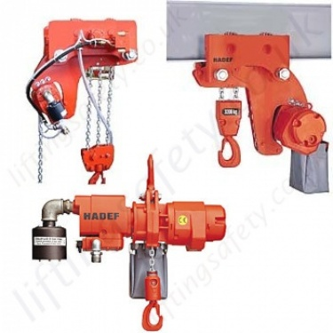 Hadef Air Hoists / Pneumatic Chain Hoists