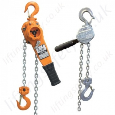 Hadef Lever Hoists, Ratchet Lever Hoists / Pull-Lifts