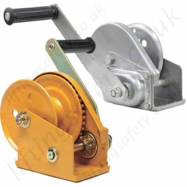 Hand Operated Wire Rope Winches and Hoists