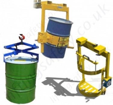 Hook Suspended Drum Handling Equipment