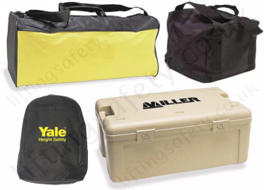 Cases, Bags, Backpacks, Holdalls. Height Safety Gear