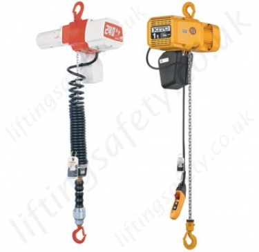 Kito Electric Chain Hoists from 60kg to 20 tonnes