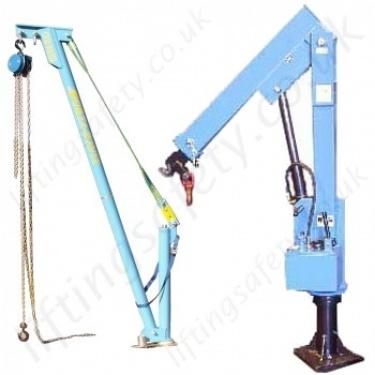 Davit Arm Portable Jib Cranes - Lifting Equipment