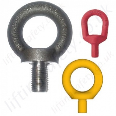 Metric Thread Lifting Eye Bolts (Non-Swivel)