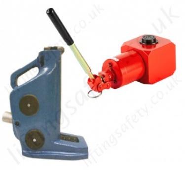 Hydraulic Lifting Jacks - Toe Jacks and Bottle Jacks, Handle