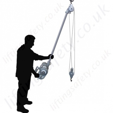 Lifting Safety Compressed Air Hoists, Pneumatic Chain Hoists
