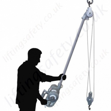 LiftingSafety Pneumatic Wire Rope Lifting Hoists