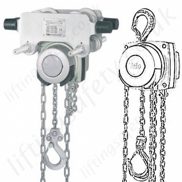 Atex Hand Chain Hoists and Monorail Trolleys, Anti-Sparking & Explosion Proof