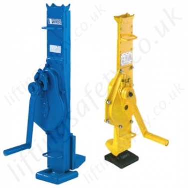 Mechanical Lifting Jacks (Not Hydraulic), options to Lift from the Head and Toe