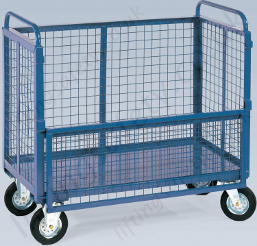 Mesh Half Hinged Gate Box Truck