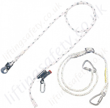Miller Work Positioning Lanyards (Pole Straps)