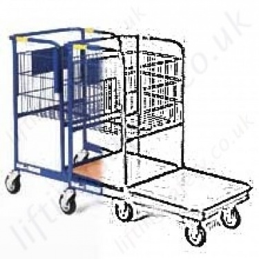 Nesting Order Picking Trolleys