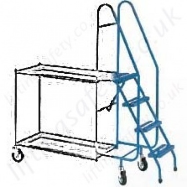 Order Picking Trolleys With Steps