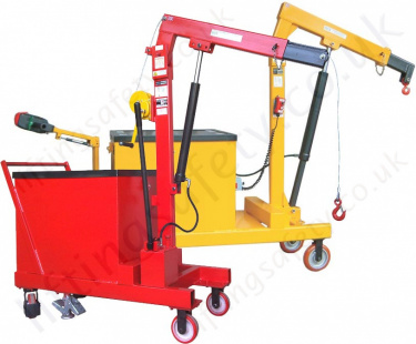 Pivoting Arm Counterbalance Floor Cranes