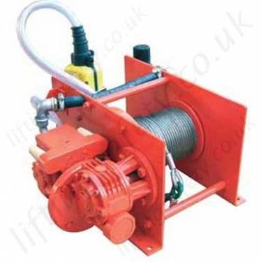Pneumatic Wire Rope Winch / Hoists (Lifting and Pulling)