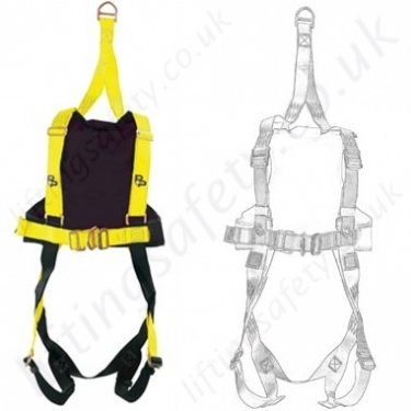 P+P Fall Arrest Rescue Harnesses