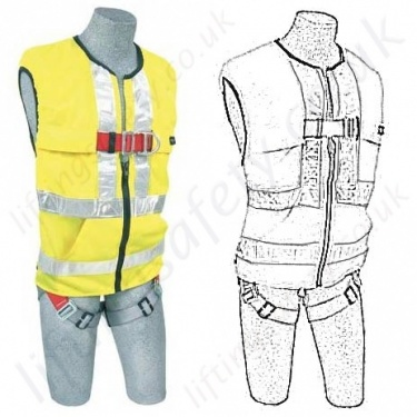 "Protecta ""Pro 2"" Hi-Vis Fall Arrest Harnesses"
