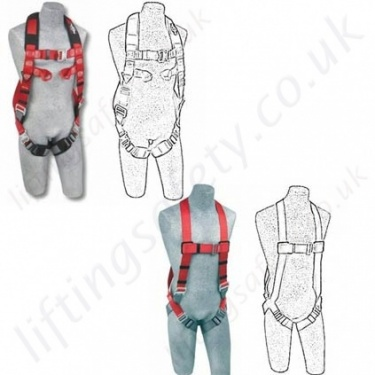"Protecta ""Pro"" and ""Pro 2"" Fall Arrest Safety Harnesses EN361"