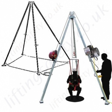 Fall Arrest, Man-riding & Rescue Tripods & Quadpods