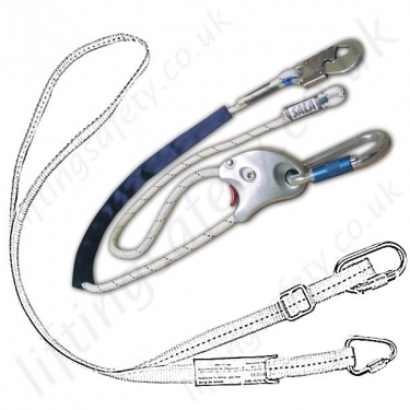 Restraint Lanyards, Fixed Length & Adjustable