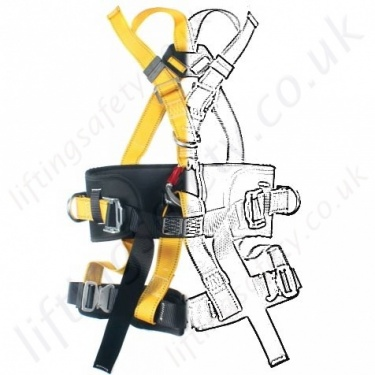 Ridgegear Fall Arrest Rope Access Harnesses EN361 EN358 And EN831