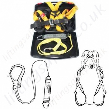 Ridgegear Fall Arrest Kits With Energy Absorbing Lanyards