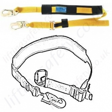 Ridgegear Work Positioning Lanyards (Pole Straps)