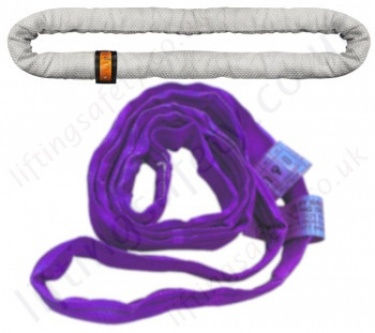 Round Slings (Endless Synthetic Soft Lifting Slings) from Polyester, Nylon, Dyneema etc...