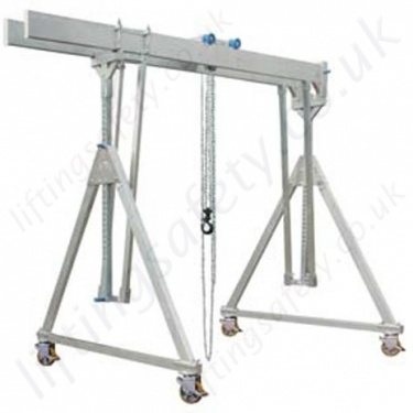 Moveable Under Load Aluminium Gantry Cranes (Safely Move Under Load)
