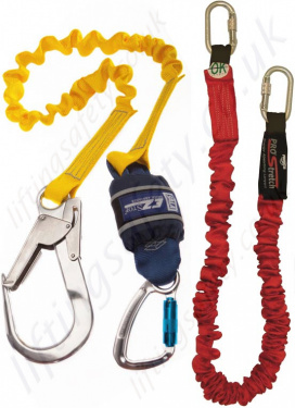Fall Arrest Lanyards - Single Leg EN355