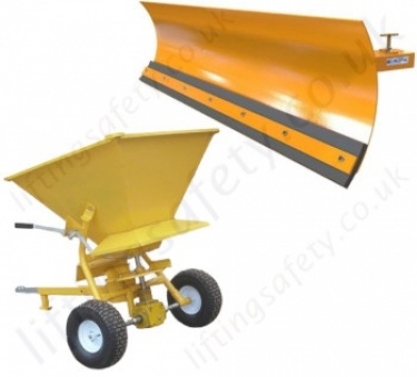 Snow Plough Fork Lift Truck Attachments