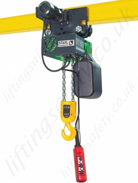 Stahl Electric Chain Hoists from 125kg to 6300kg