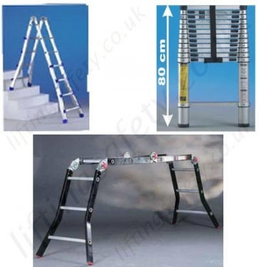 Telescopic Multipurpose Ladders