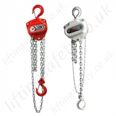 Tiger Hand Chain Hoists, Hook Suspended (manual hoists)