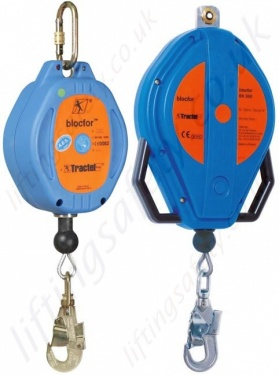 Tractel Fall Arrest Inertia Reels. Self-retracting Lifelines to EN360