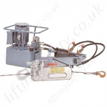 Tractel Hydraulic Pulling and Lifting Wire Rope Winches & Hoists